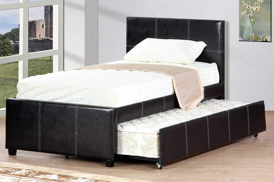 POUNDEX, FULL BED+TWIN TRUNDLE, F9214F