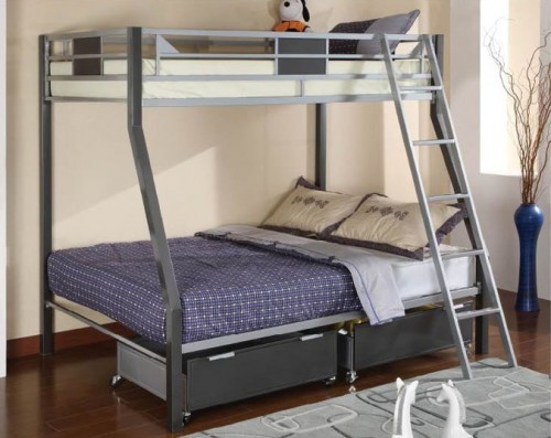 CLETIS TWIN/FULL BUNK BED