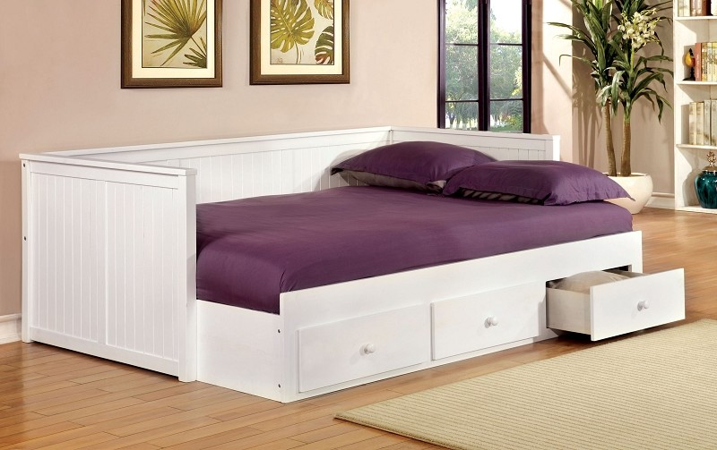 WOLFORD FULL SIZE  DAYBED WITH DRAWERS
