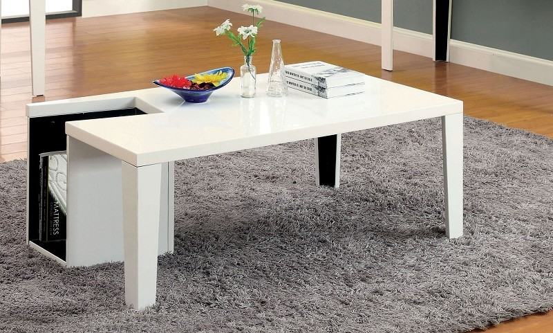 FURNITURE OF AMERICA, COFFEE TABLE, CM4644-WH