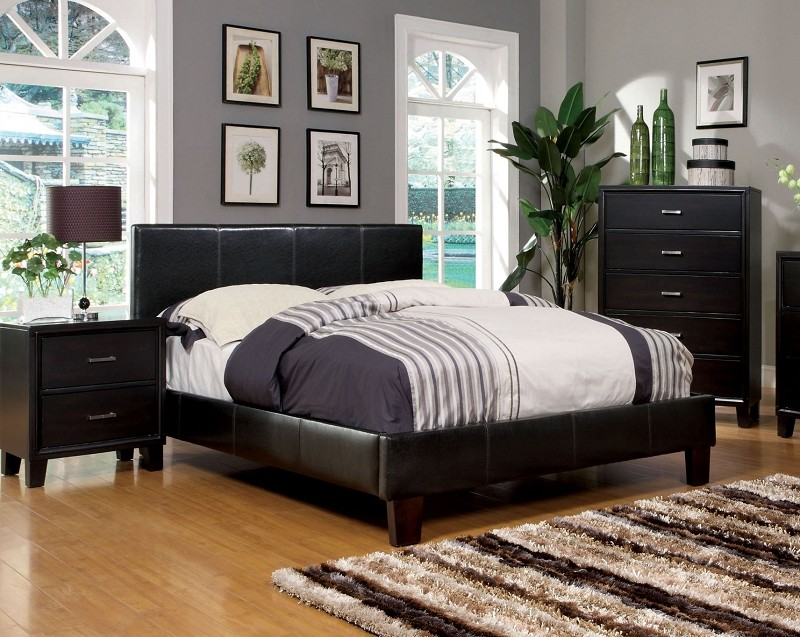ESPRESSO QUEEN BED, CM7008Q