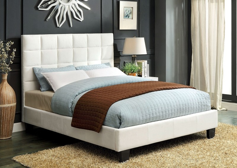 QUEEN BED IVORY FLANNELETTE