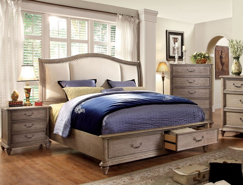 STORAGE PLATFORM QUEEN BED