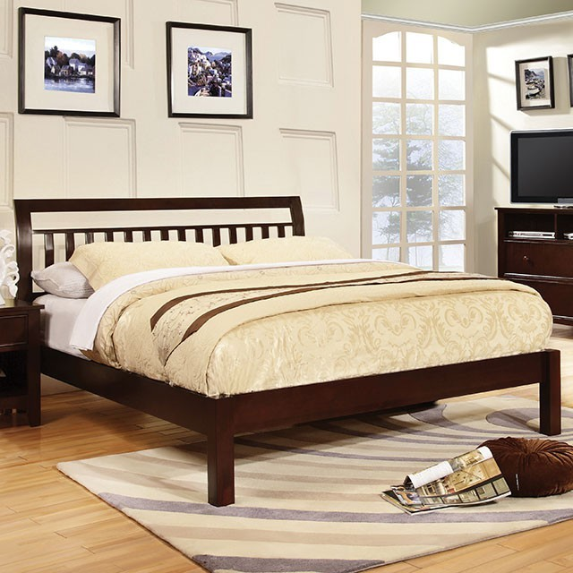 ESPRESSO QUEEN BED