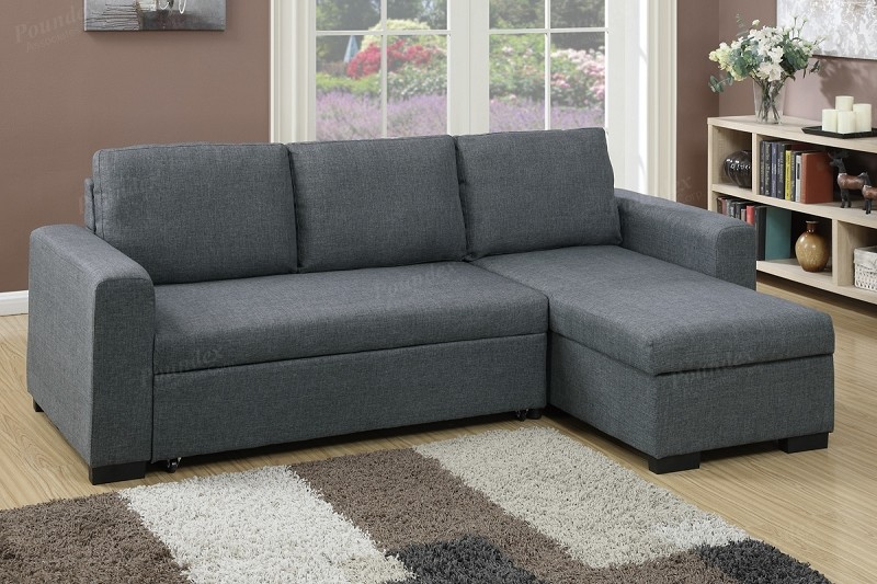 POUNDEX, 2 PCS PULL OUT SOFA SLEEPER WITH STORAGE, F6931