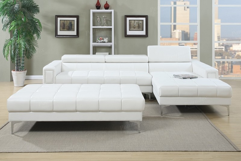 POUNDEX 2 PCS SECTIONAL (OTTOMAN SOLD SEPARATELY), F7364
