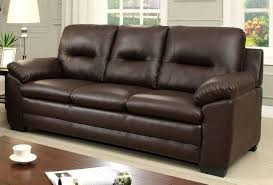 PARMA SOFA BROWN BONDED LEATHER, CM6324BR